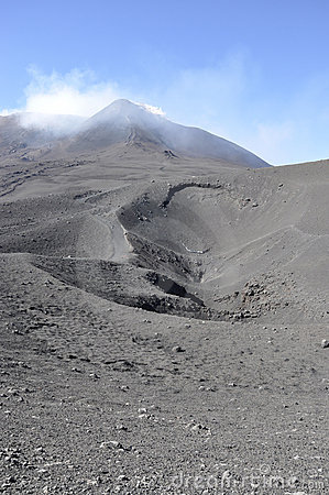 Craters of Etna. Sicily. Italy.