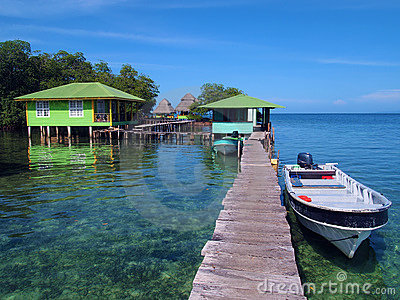 Crawl Cay In Bocas Del Toro Royalty Free Stock Image - Image: 20785026