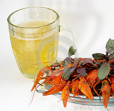Crayfishes and beer