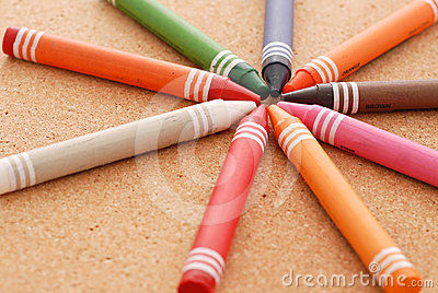 Crayon Arrangement