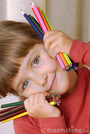 Crayon Girl.