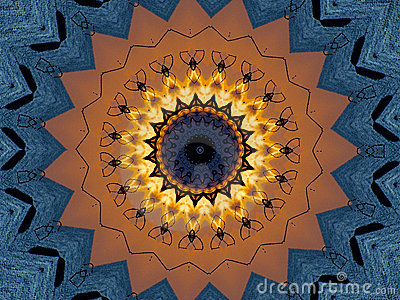 Crayon Kaleidoscope