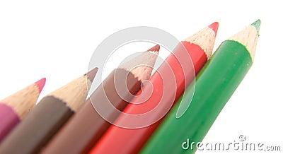 Crayon pencils