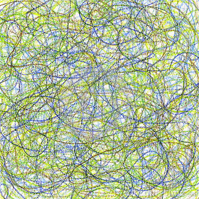 Crayon scribble abstract background