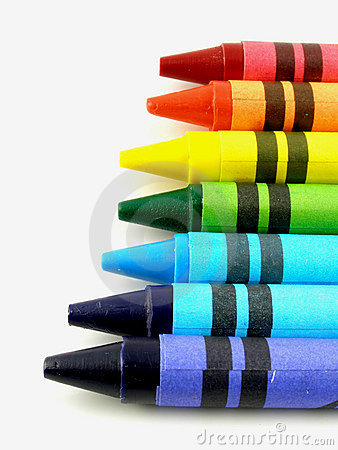 Free Crayons Stock Photography - 230522