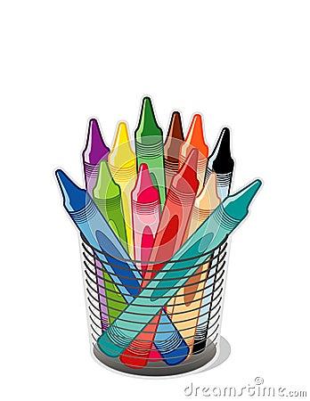 Free Crayons Stock Image - 4678731