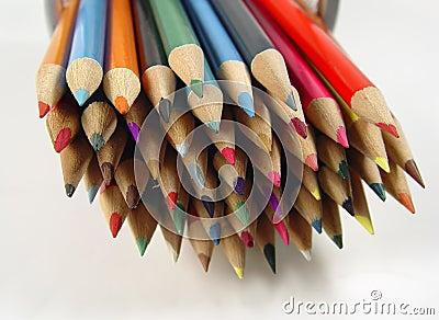 Crayons colorés 7