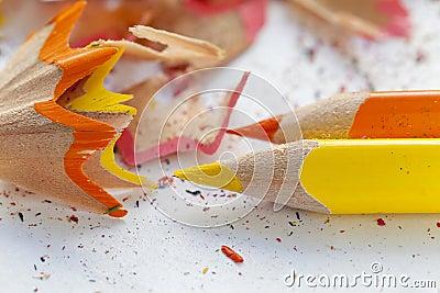 crayons et copeaux en bois colors affils - Copeaux De Bois Colors