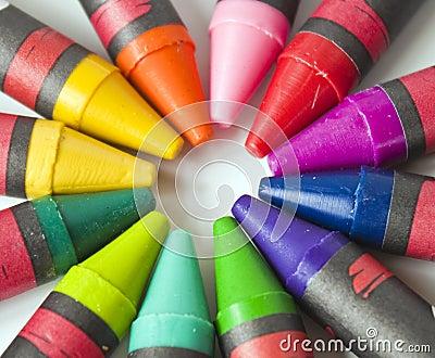 Crayons in Multicolors