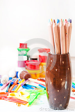 Crayons and other tools