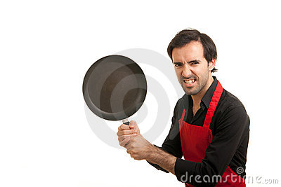 Crazy chef pan