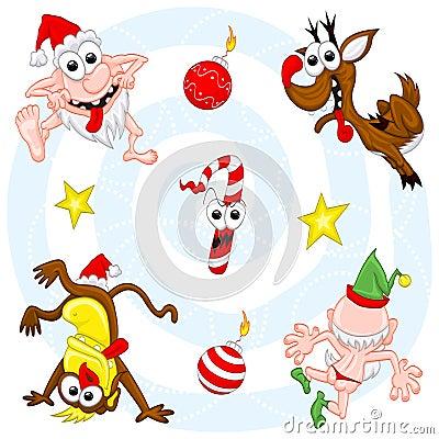Crazy christmas set