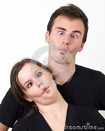 Crazy Cross-eyed Couple