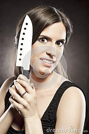 Crazy, dangerous woman