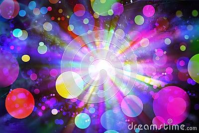 Crazy disco light