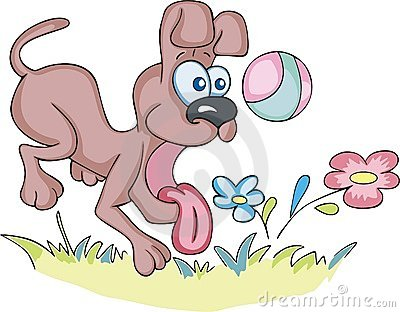 gallery for gt dog ball cartoon