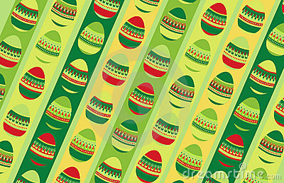 Crazy eggs background