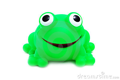 Crazy Frog Toy (isolated)