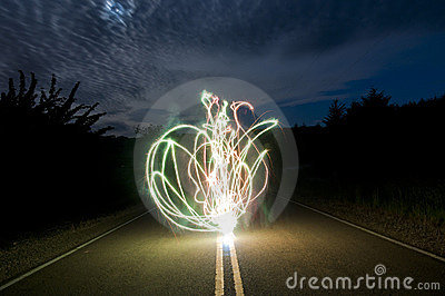 Crazy Long Exposure Sparkler