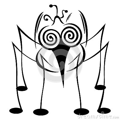 Free Crazy Mosquito Stock Photography - 27351992
