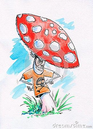 Crazy mushroom
