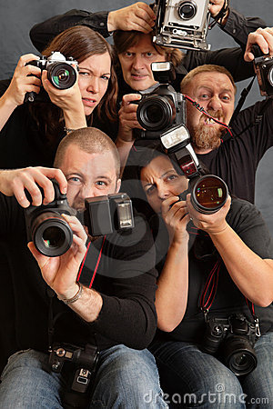 Crazy photographers