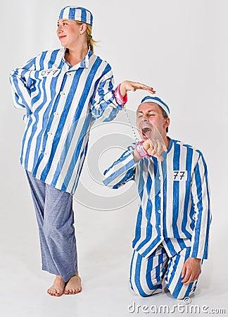 Free Crazy Prisoners Royalty Free Stock Photos - 5548508