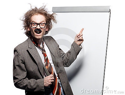 crazy professor royalty free stock photography image horn clipart cartoon horn clip art black and white
