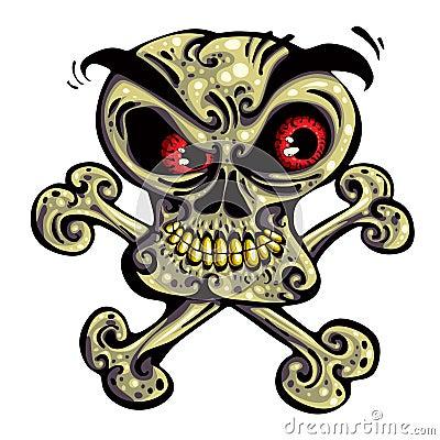 Crazy skull.