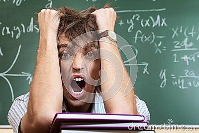 Crazy student
