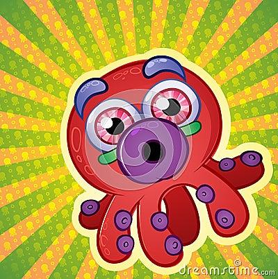Crazy Techno Octopus