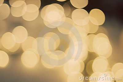 Cream bokeh background