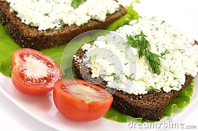 Cream Cheese Sandwich