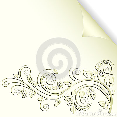 Cream color background