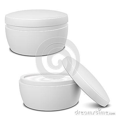 Cream Container