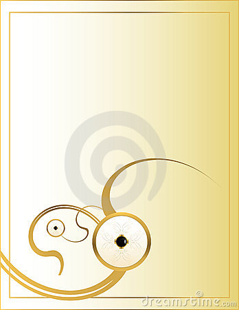Cream gold background 6