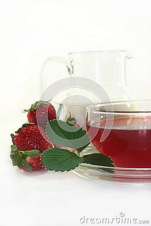 Cream - strawberry - Tea