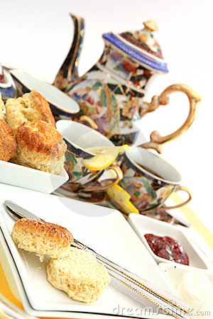 Free Cream Tea 2 Stock Photo - 295630