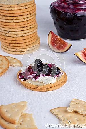 Creamed cracker