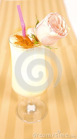 Creamy cocktail