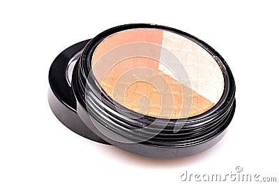 Creamy eye shadow kit