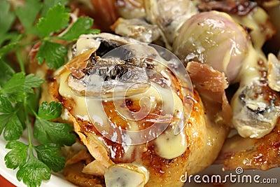 Creamy Mushroom Chicken