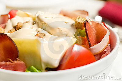 Creamy salad