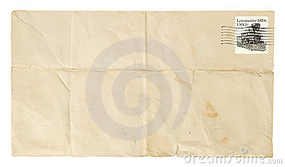 Creased Envelope