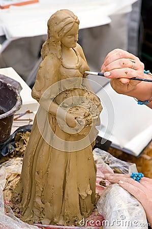 Creating sculpture