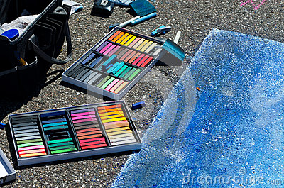 Creating street art