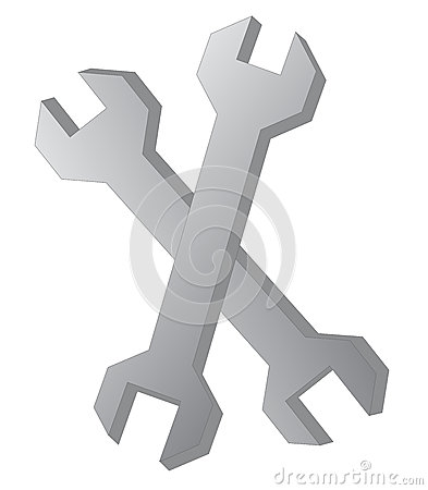 Wrench Pair Vector