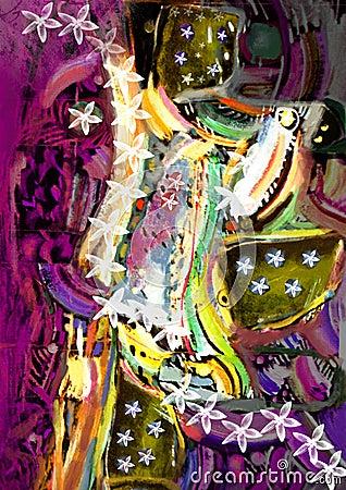 Creative abstract illustration