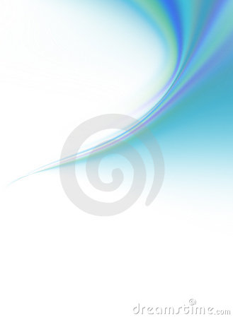 Creative Blue Green Abstract Background Swirl