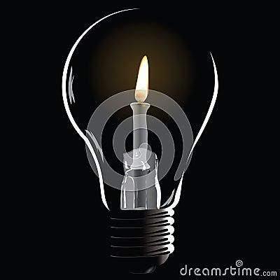 Creative with a bulb